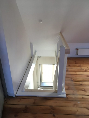 Trappe og trappehul
